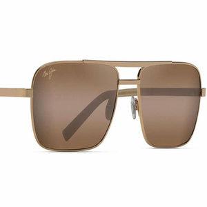 Maui Jim Compass Gold Sunglasses Polarized NWOT